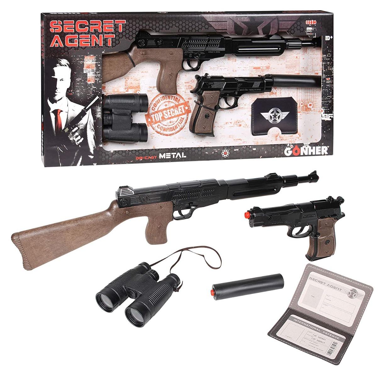 Set arme de joaca Gonher Secret Agent