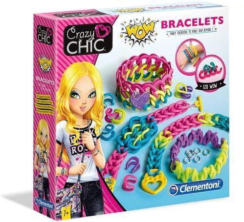 Set creatie bratari Clementoni Crazy Chic WOW