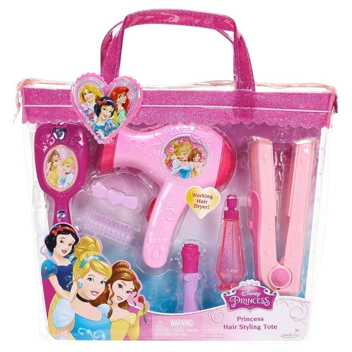 Set de coafura cu uscator de par Disney Princess imagine hippoland.ro
