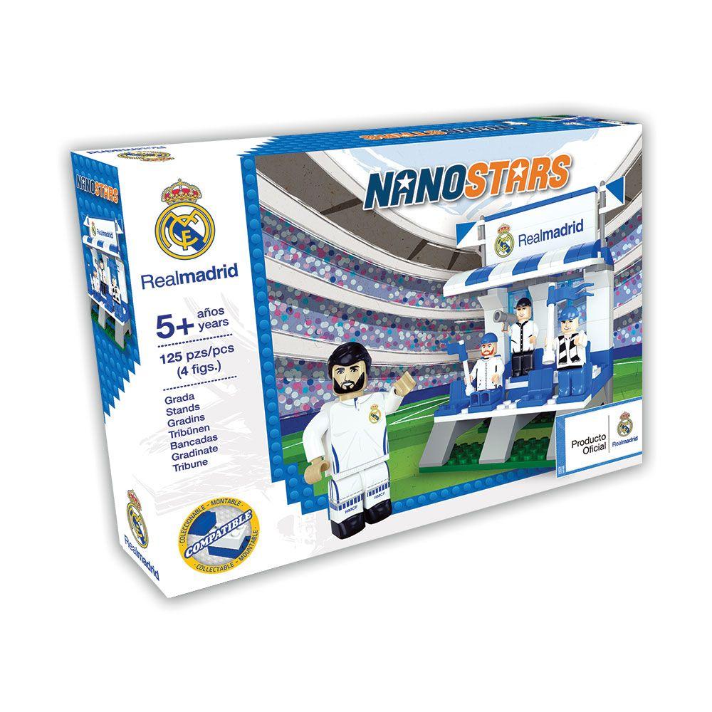 Set de constructie Nanostars Real Madrid tribune imagine hippoland.ro