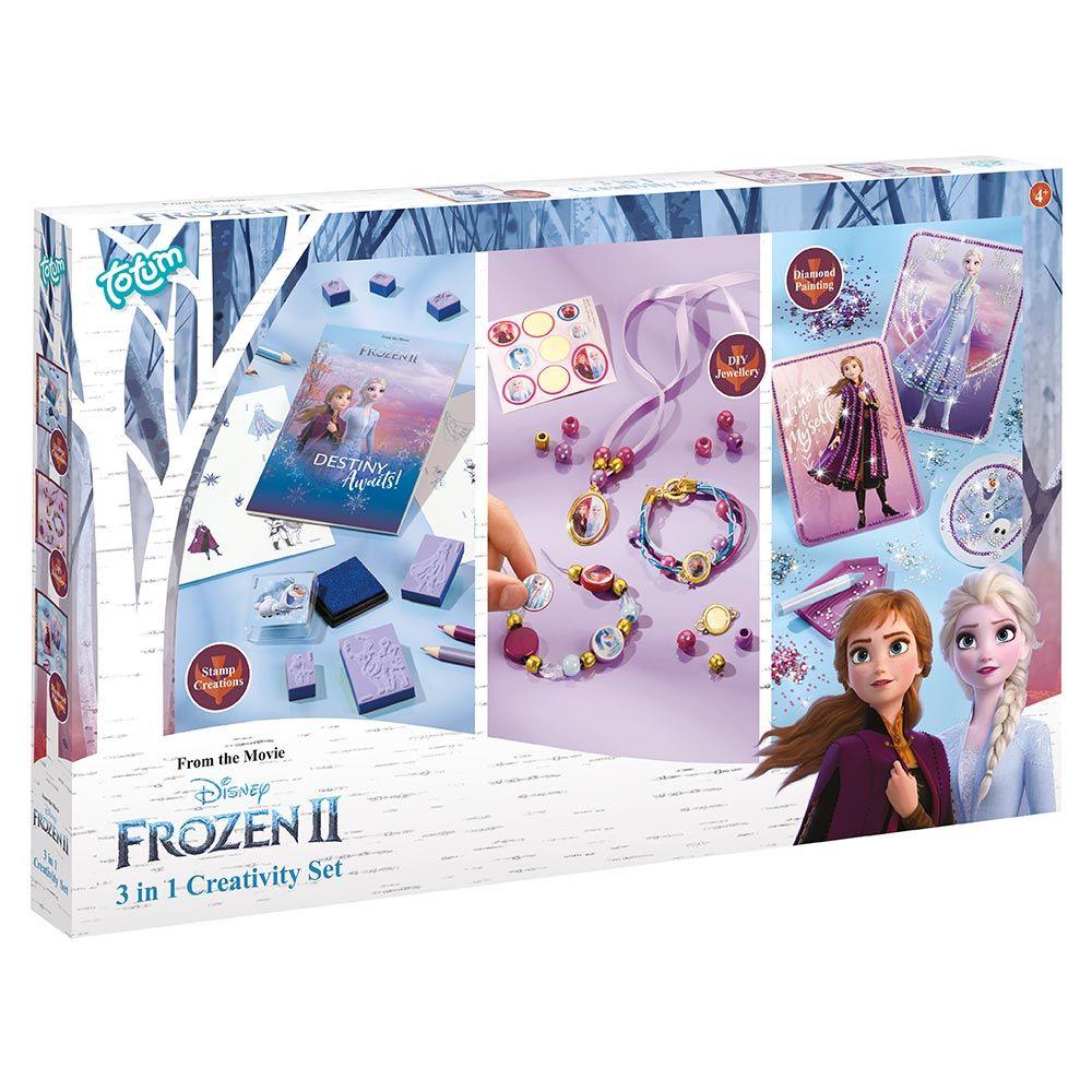 Set de creatie 3 in 1 Totum Frozen 2 imagine hippoland.ro
