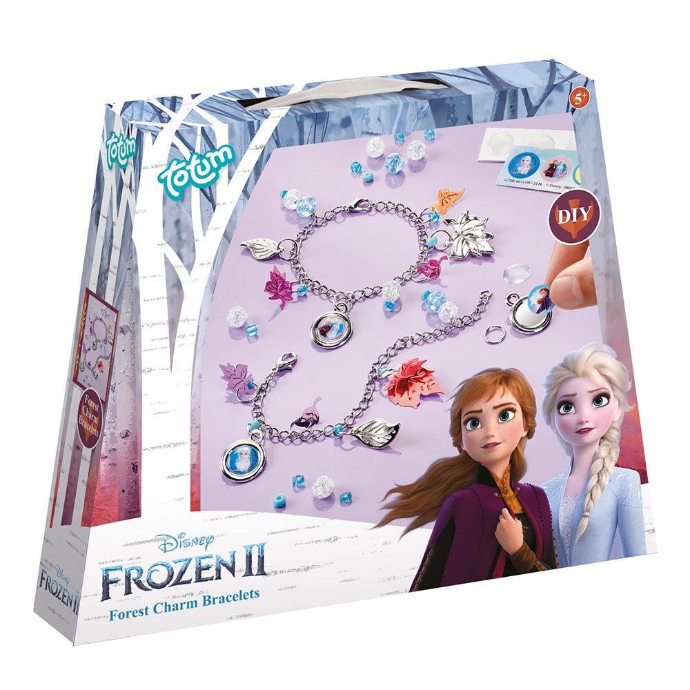 Set de creatie bratari cu talismane Totum Frozen 2 imagine hippoland.ro