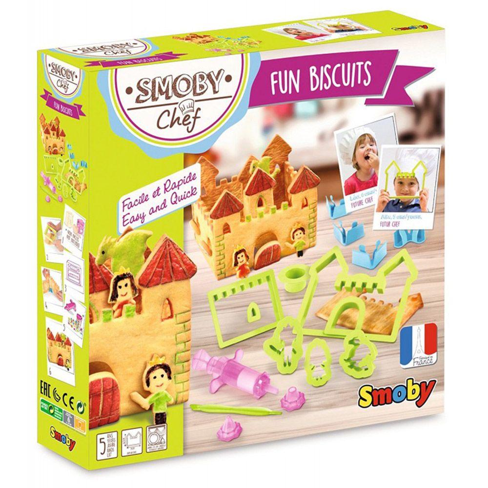 Set de creatie Smoby Cookie Castle Fun Castle