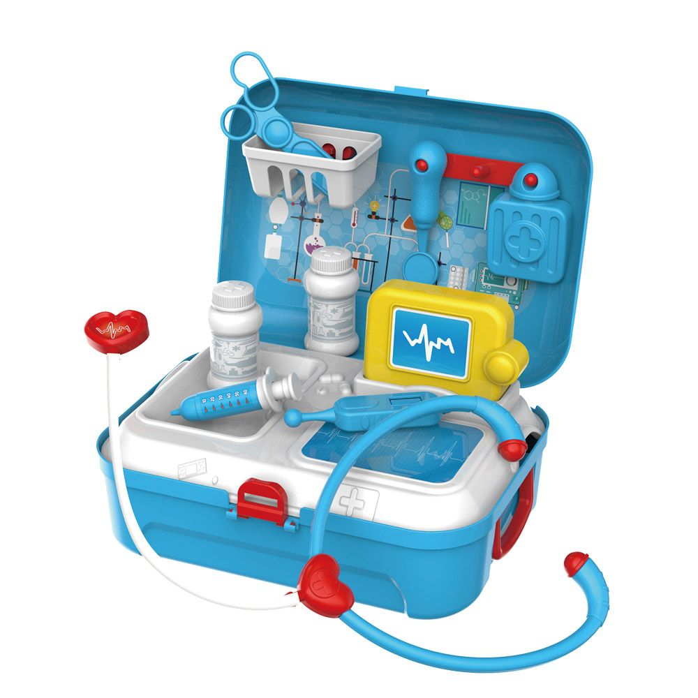 Set de doctor in rucsac Bowa Doctor 17 piese imagine hippoland.ro