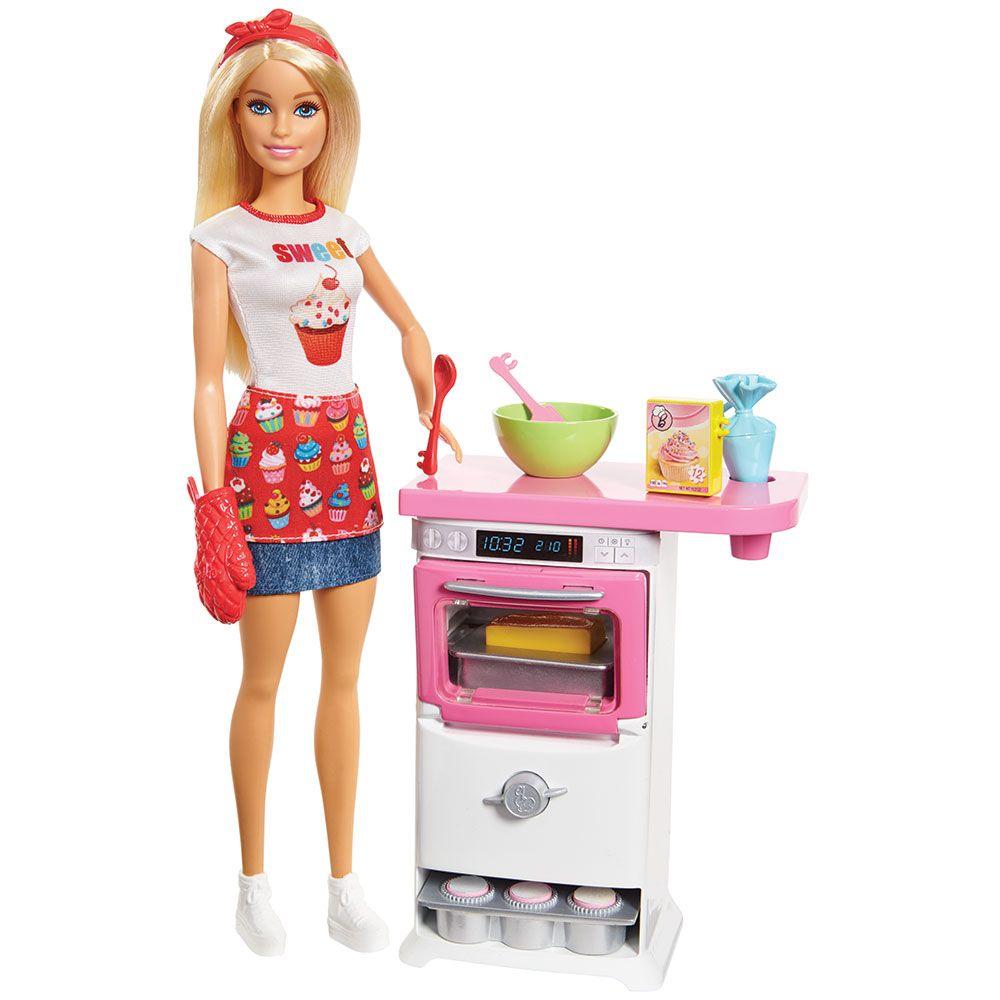 Set de joaca Barbie Bucatar imagine hippoland.ro