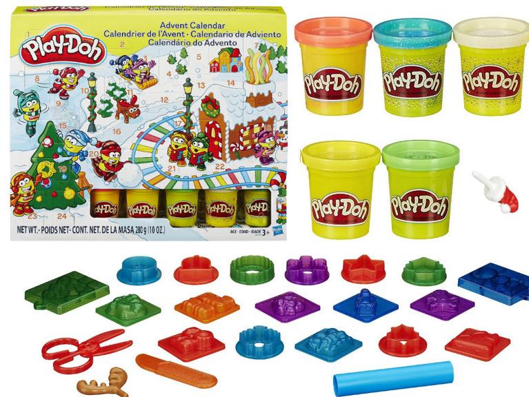 Set de joaca cu plastilina Hasbro Play Doh Advent Calendar imagine hippoland.ro
