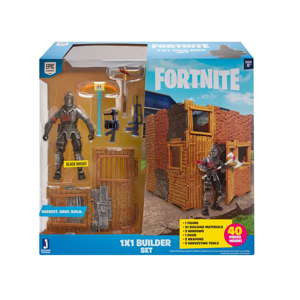 Set de joaca fort cu figurina Fortnite Black Knight imagine hippoland.ro