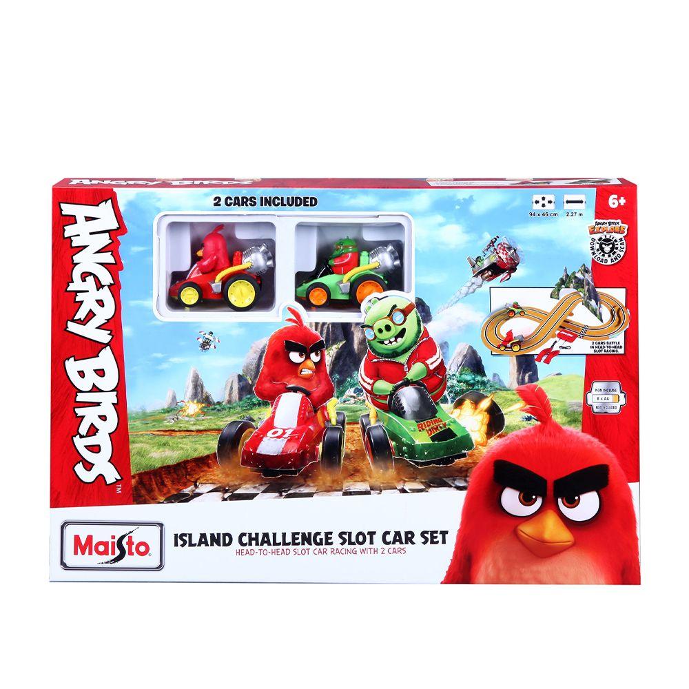 Set de joaca Maisto Angry Birds Challenge imagine hippoland.ro