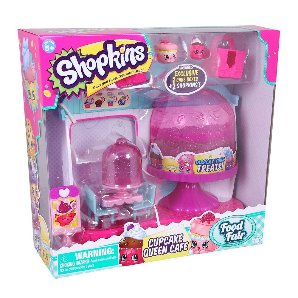 Set de joaca Shopkins Cup Cake Cafe imagine hippoland.ro