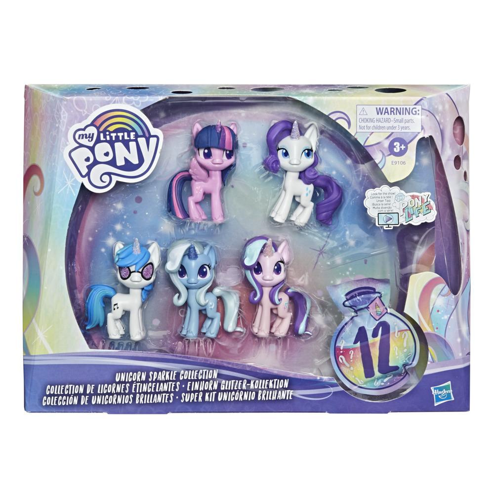 Set figurine Hasbro My Little Pony Unicorn Sparkle imagine hippoland.ro