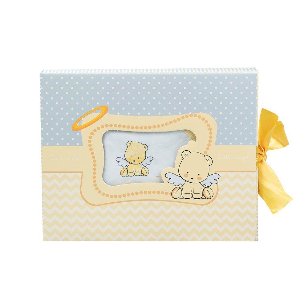 Set hainute nou nascut Kikka Little Angel yellow imagine hippoland.ro