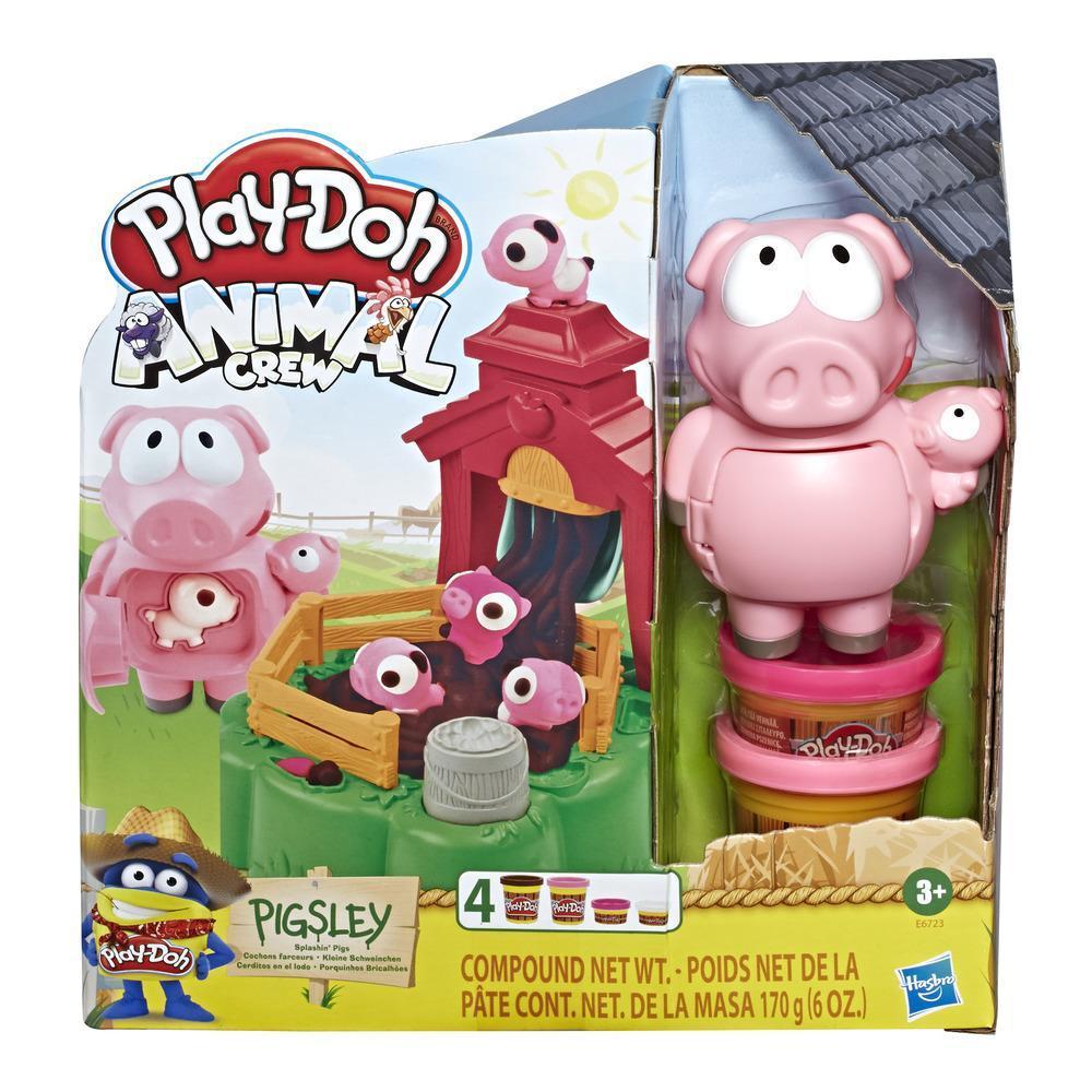 Set Hasbro Play Doh Animal Crew porcul Pigsley