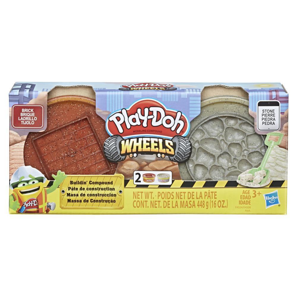 Set Hasbro Play Doh Wheels Construction imagine hippoland.ro