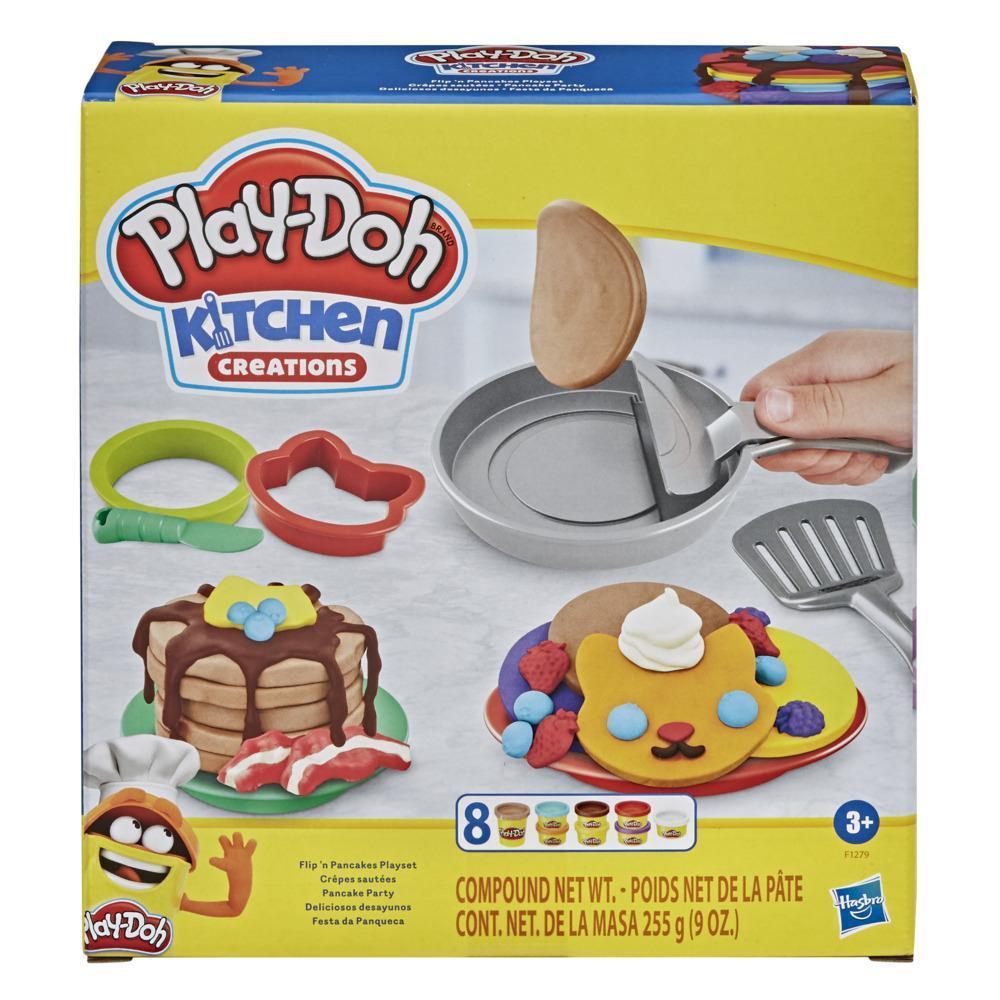 Set plastilina Hasbro Play Doh Flip N Pancakes imagine hippoland.ro