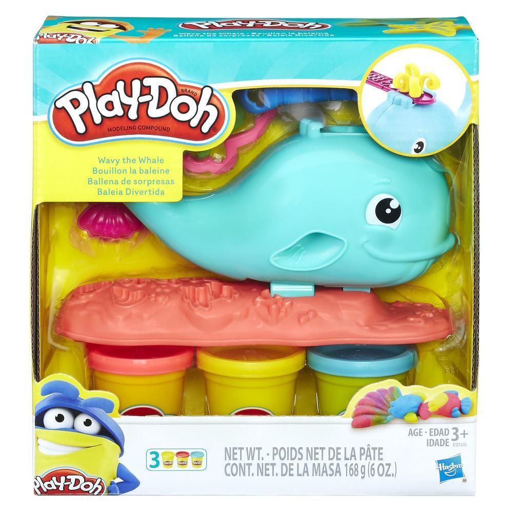 Set plastilina Play-Doh Balena Wavy