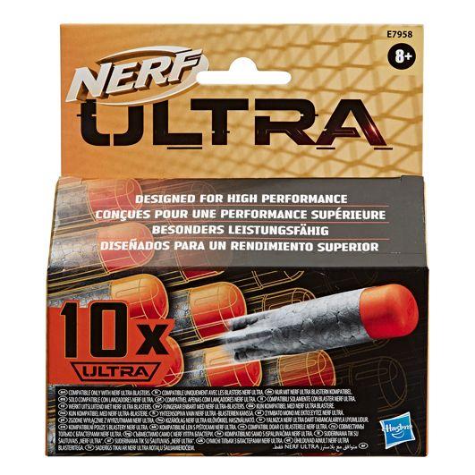 Set proiectile din spuma Hasbro Nerf Ultra 10 buc imagine hippoland.ro