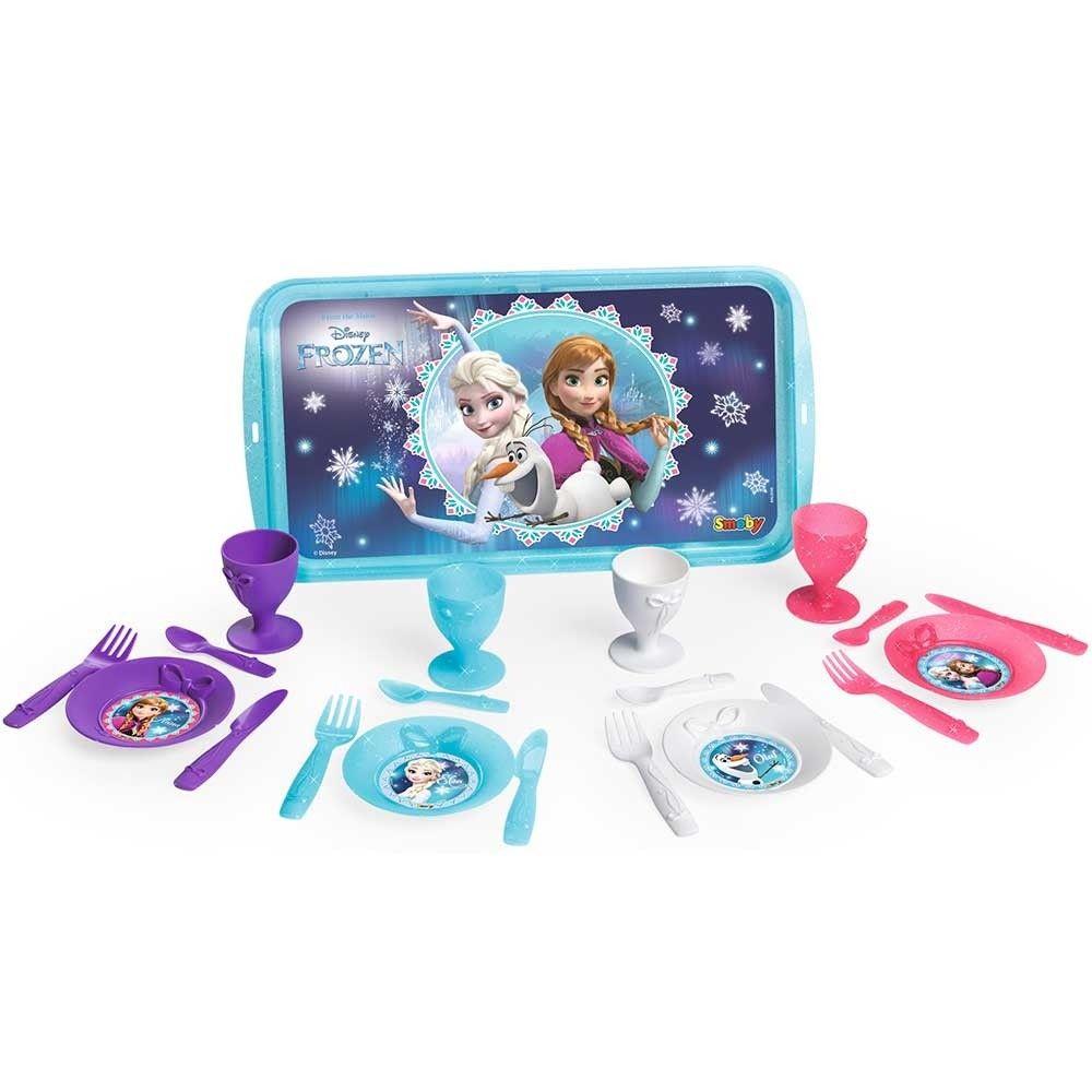 Set tacamuri Smoby Frozen 2 21 piese imagine hippoland.ro