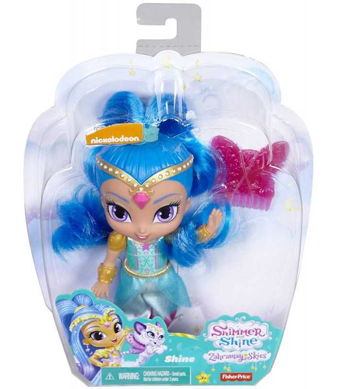 Papusa 15 cm Fisher Price Shimmer and Shine diverse modele imagine hippoland.ro