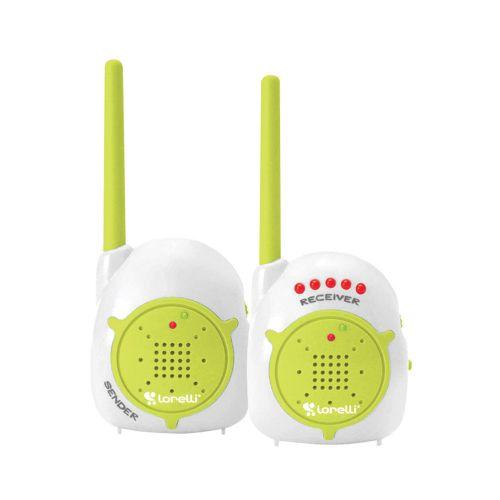 Sistem monitorizare audio bebelusi Lorelli white