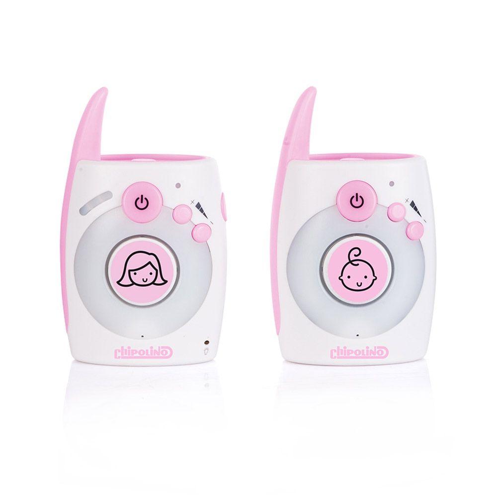 Sistem monitorizare audio Chipolino Astro pink