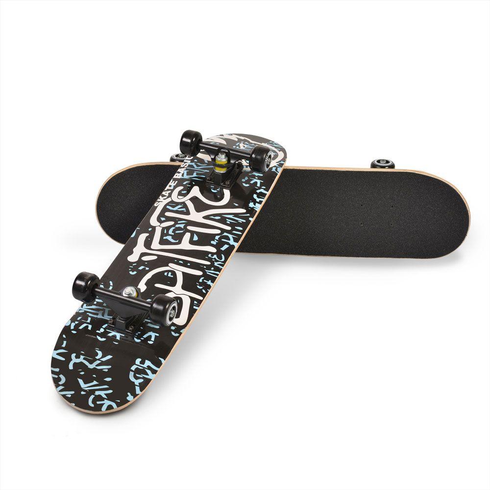 Skateboard Moni Lux Blue imagine hippoland.ro