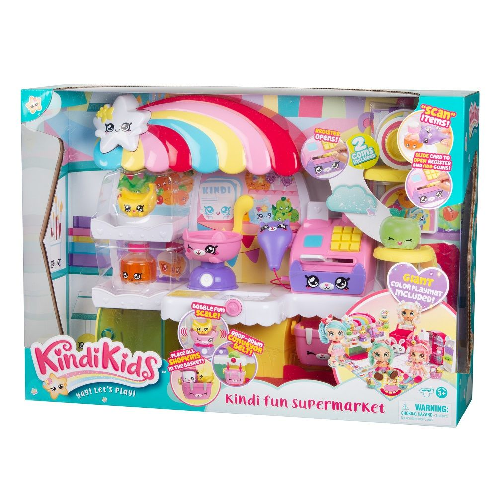 Supermarket cu accesorii Shopkins Kindi Kids imagine hippoland.ro