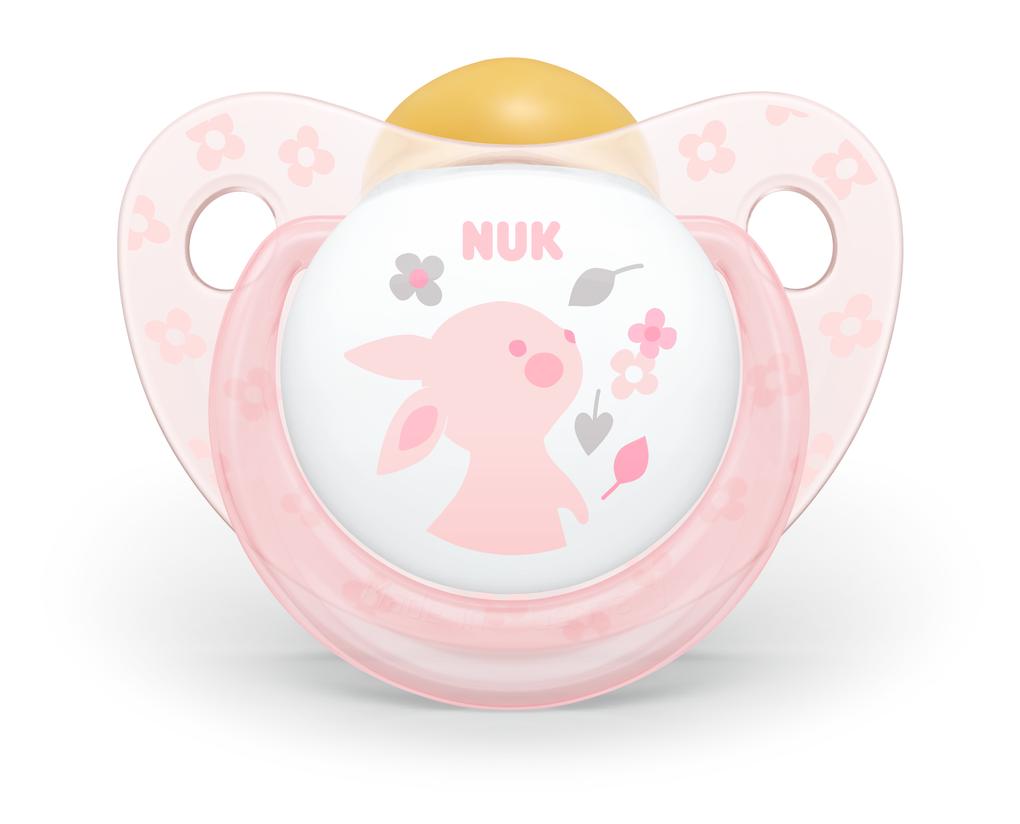 Suzeta Latex Nuk Rose 0-6 luni imagine hippoland.ro
