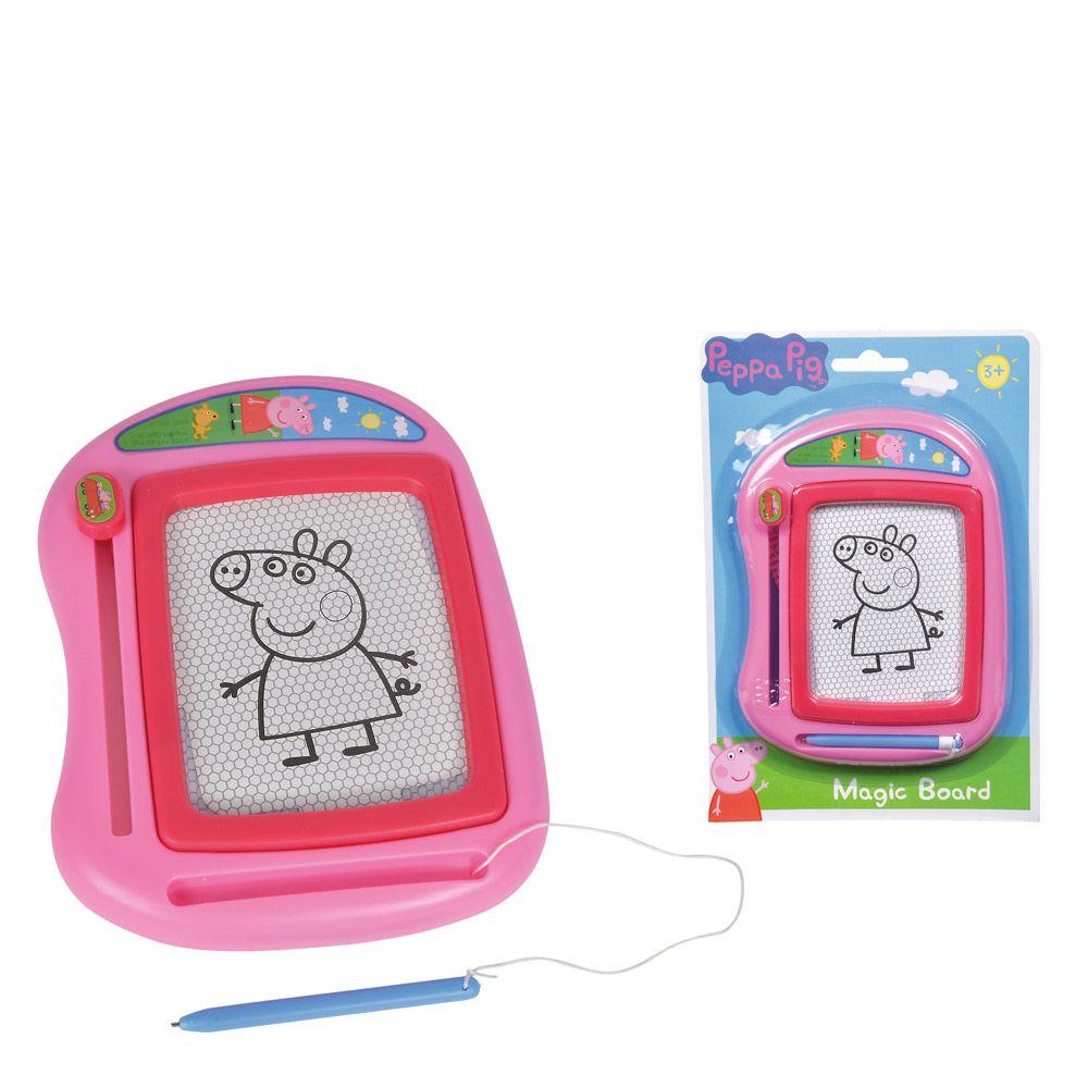 Tablita magnetica de desenat Simba Peppa Pig imagine hippoland.ro