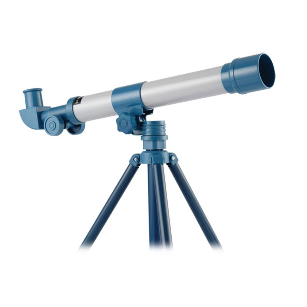 Telescop astronomic cu trepied si oglinda diagonala Edu Toys 45 x 40 mm imagine hippoland.ro