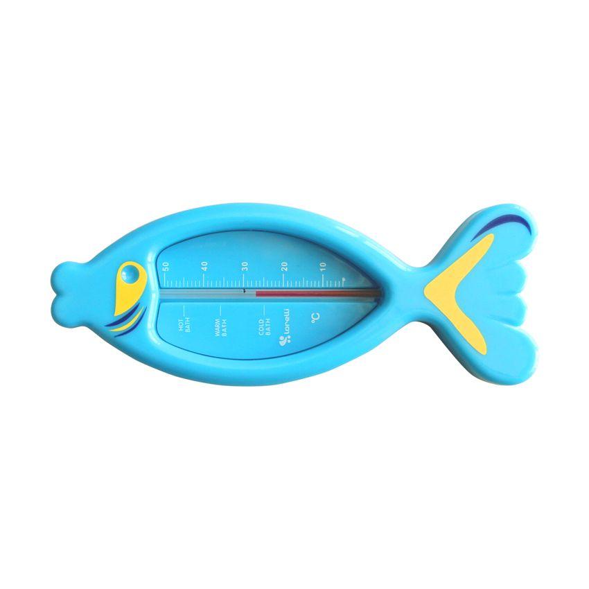 Termometru pentru baie Lorelli Fish blue imagine hippoland.ro