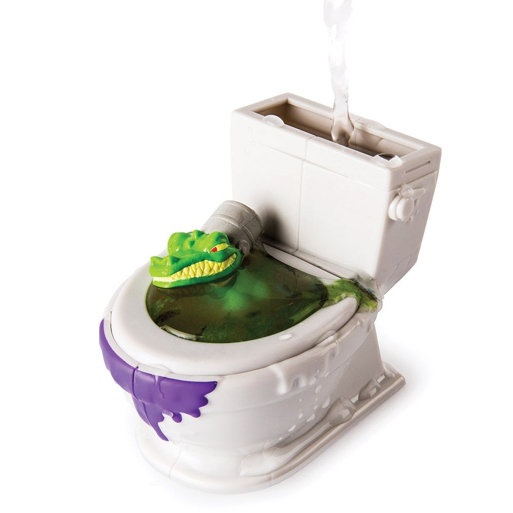 Toaleta Flush Force cu 2 figurine imagine hippoland.ro