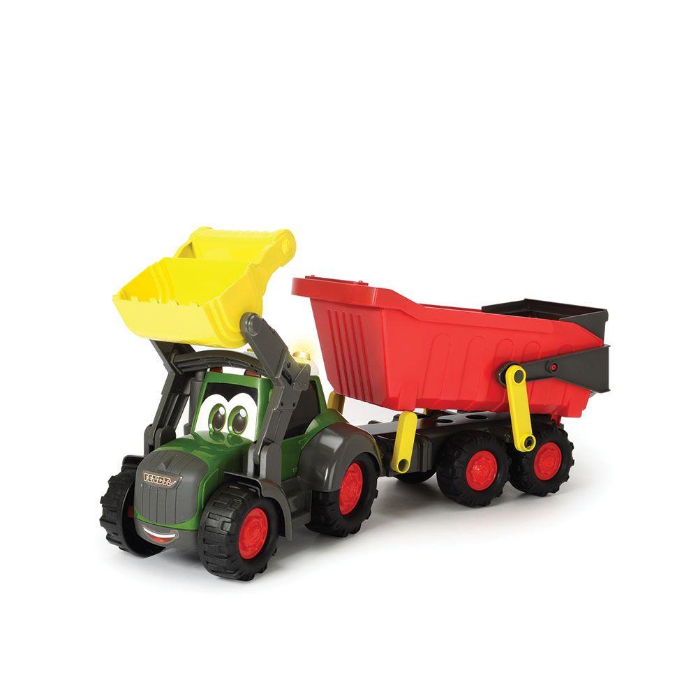 Tractor cu remorca Dickie Happy Farm imagine hippoland.ro