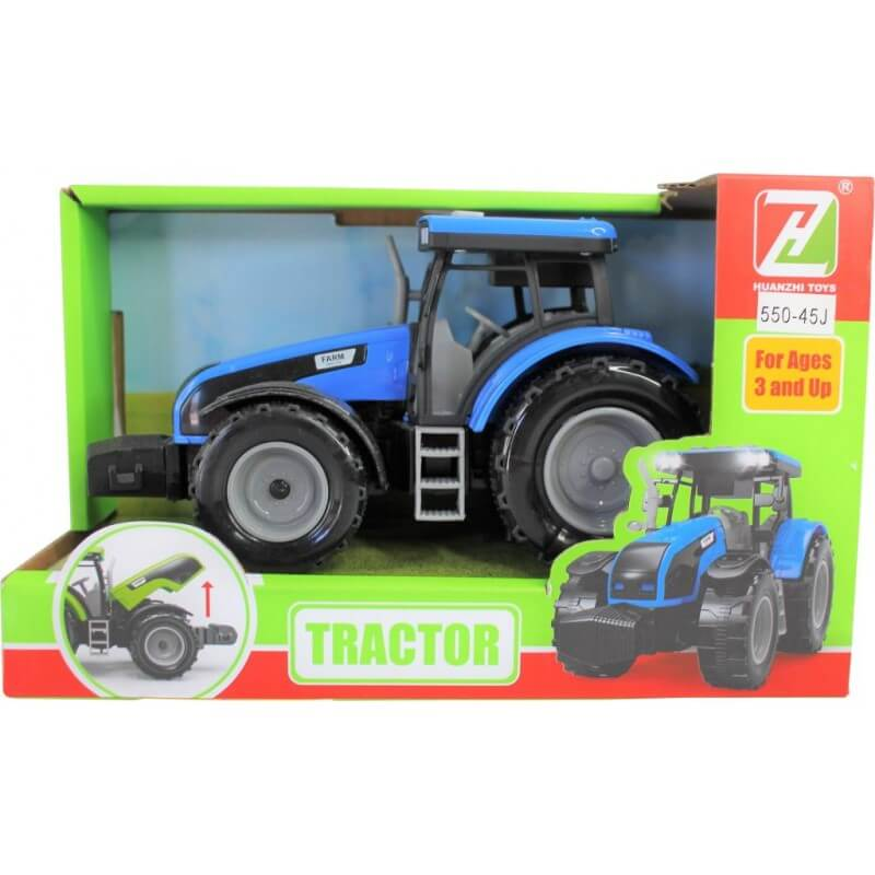 Tractor cu sunete si lumini imagine hippoland.ro