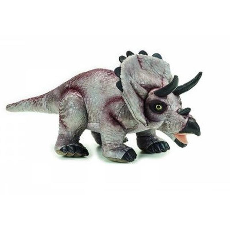 Triceratops de plus National Geografic 42 cm imagine hippoland.ro