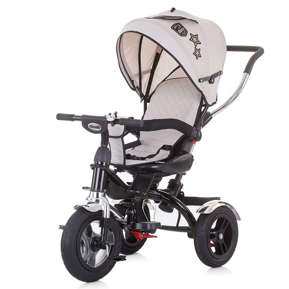 Tricicleta cu scaun rotativ Chipolino Arena Mocca imagine hippoland.ro