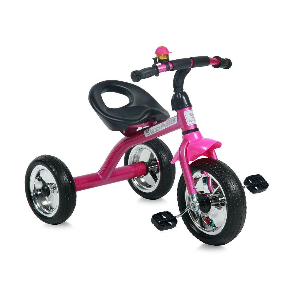 Tricicleta Lorelli A28 Pink and Black imagine hippoland.ro