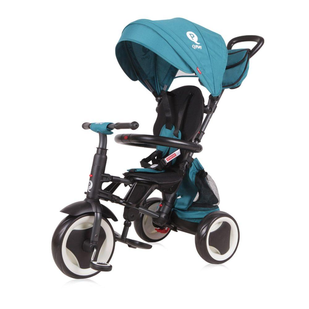 Tricicleta transformabila cu parasolar Lorelli Rito Plus green