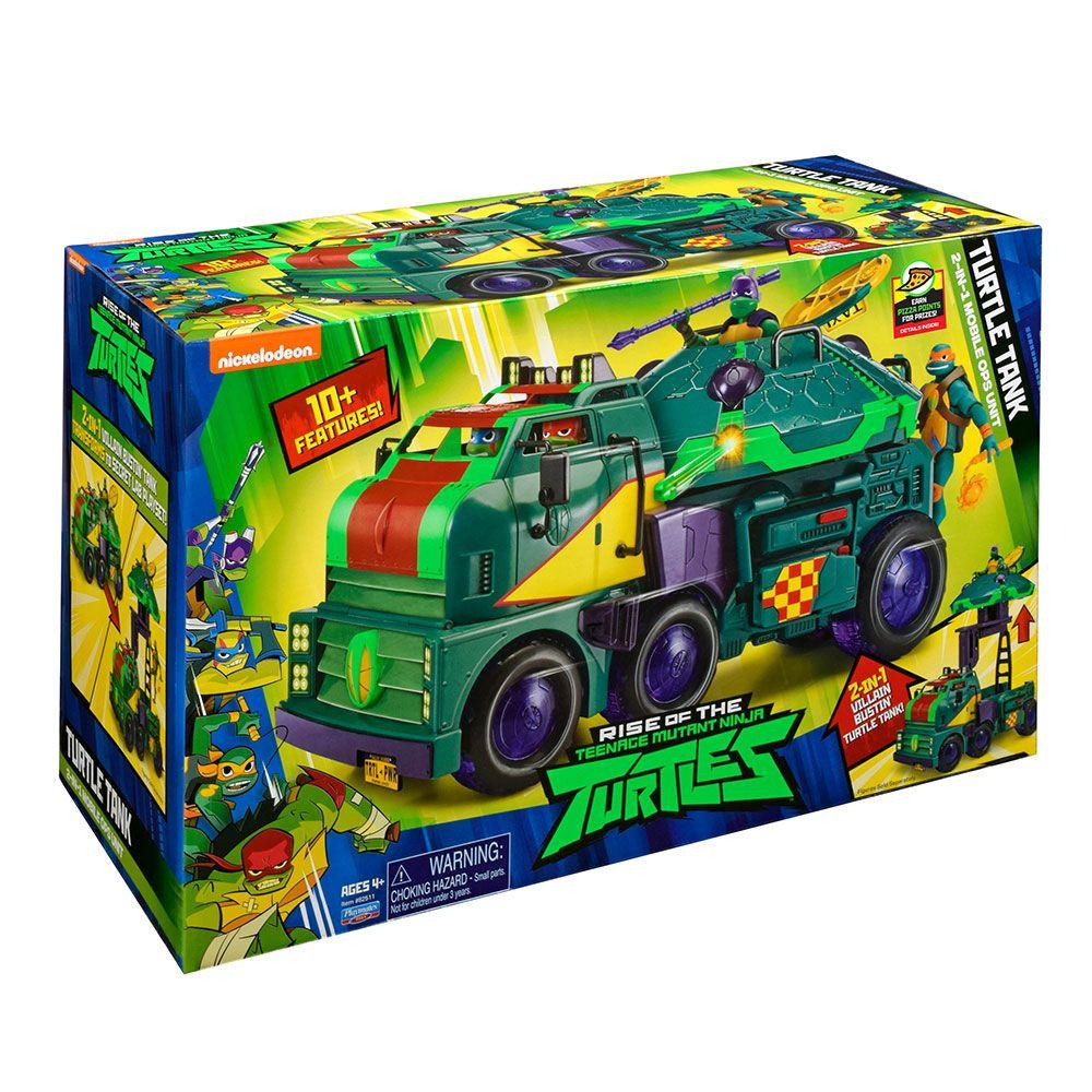 Vehicul Turtle Tank din seria Rise of Teenage Mutant Ninja Turtles