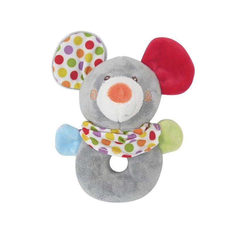 Zornaitoare din plus pentru bebelusi Lorelli Mouse imagine hippoland.ro