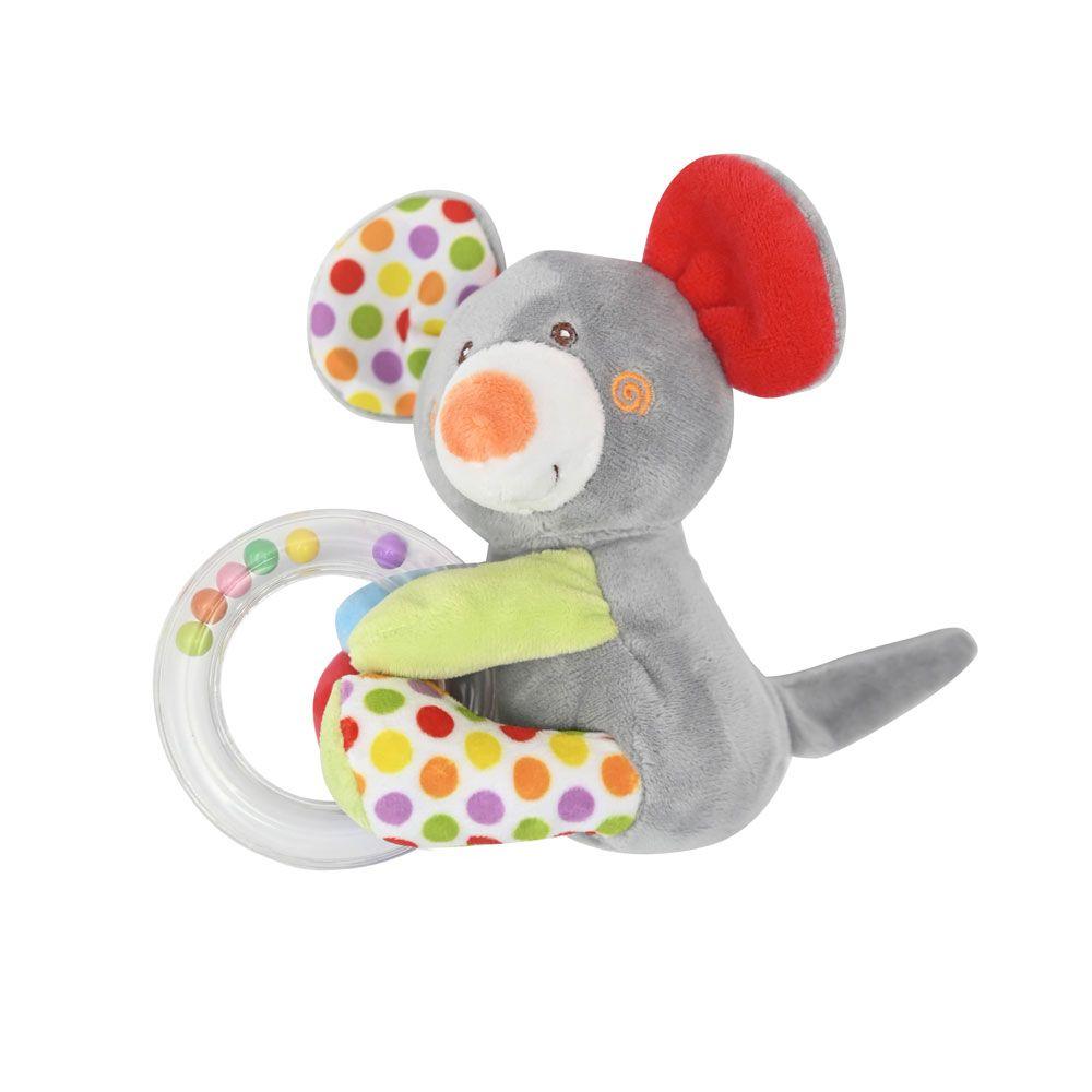 Zornaitoare din plus pentru bebelusi Lorelli Mouse Circle imagine hippoland.ro