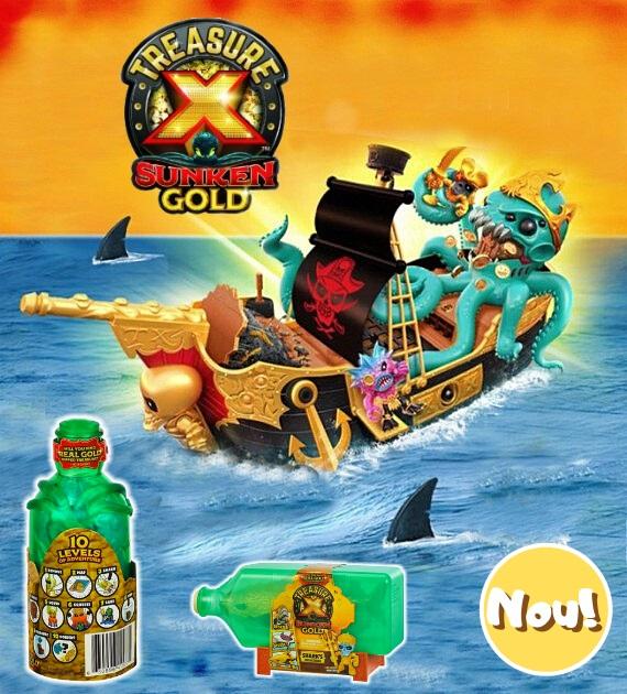 Treasure X Sunken Gold