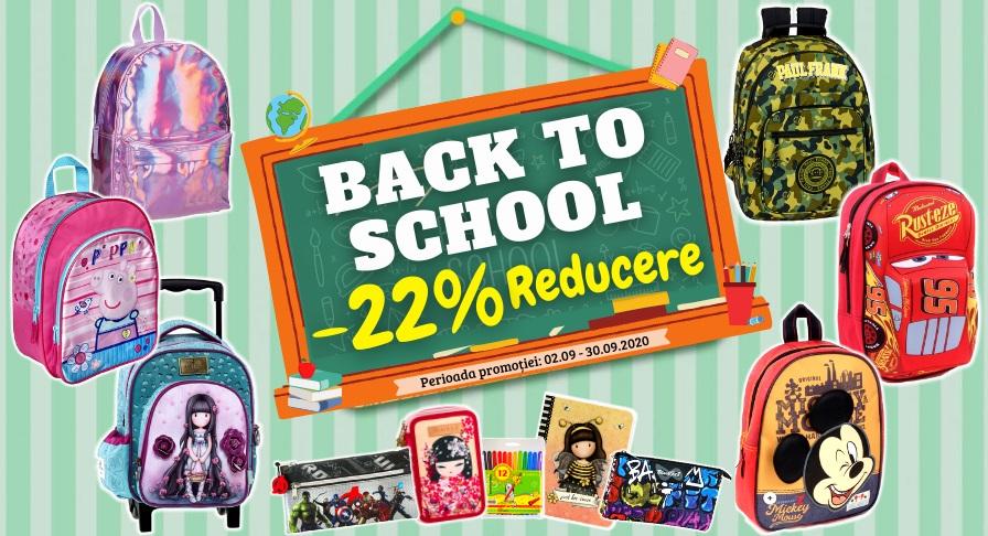 Back To School Reducere Ghiozdane si Penare
